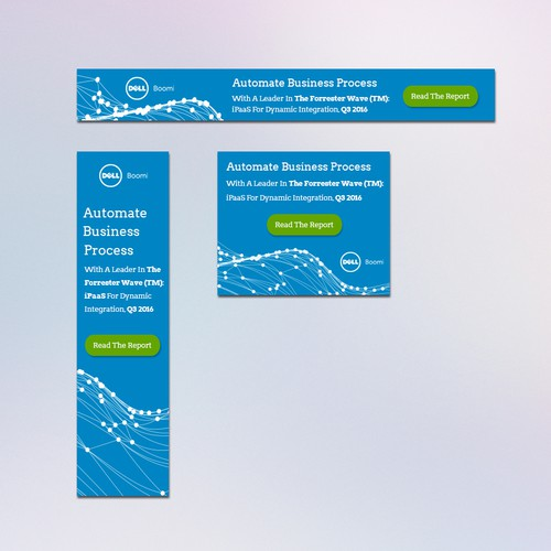 Banner Ads for Dell Boomi