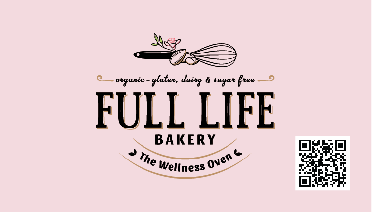 Full Life Bakery Business Card
