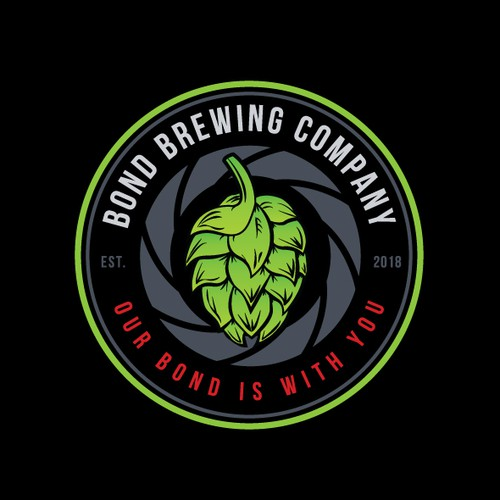 Logo design for brewing company