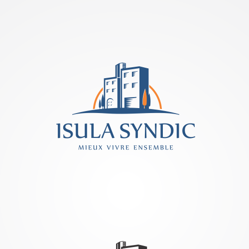 New logo needed for a French property management company called ISULA SYNDIC