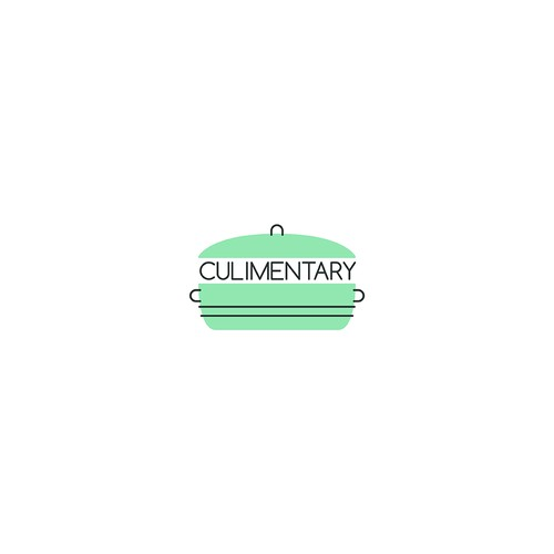 Pot logo for a company which designs kitchen utensils