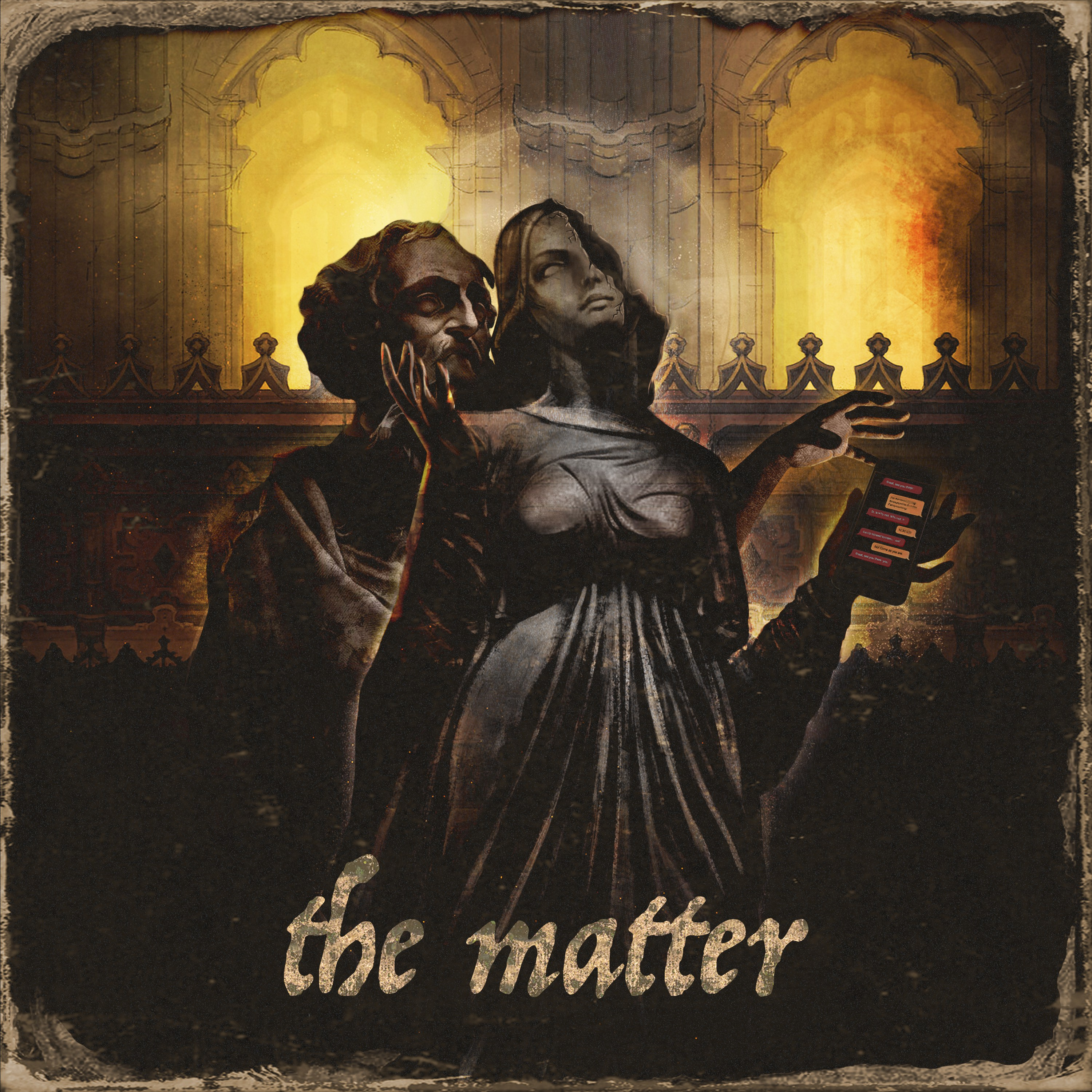 the matter - a fiction podcast about sex and blackmail in a DC chamber choir