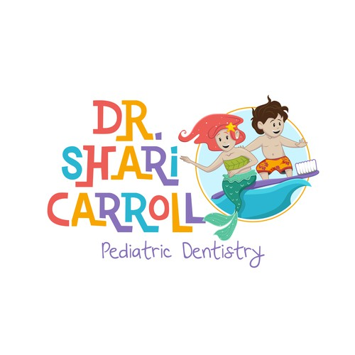 Logo for a Pediatric Dentist