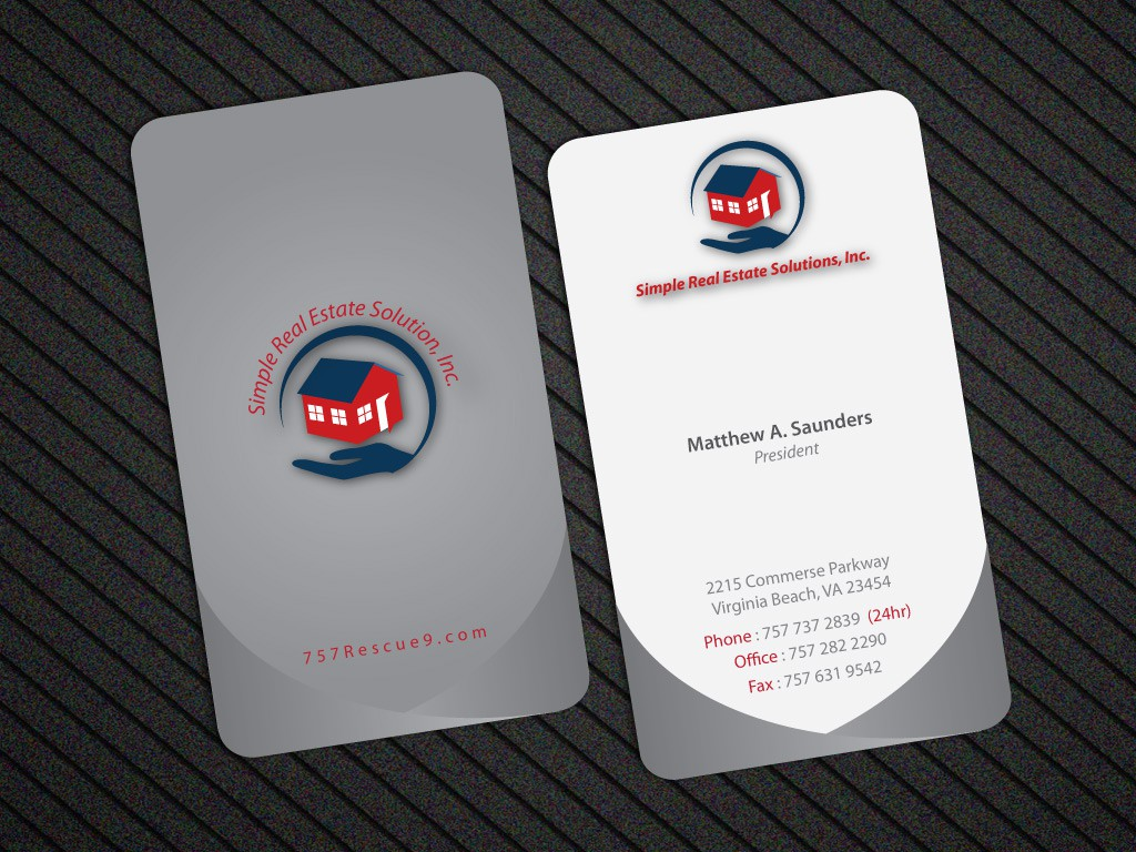 Business Card for Simple Real Estate Solutions, Inc