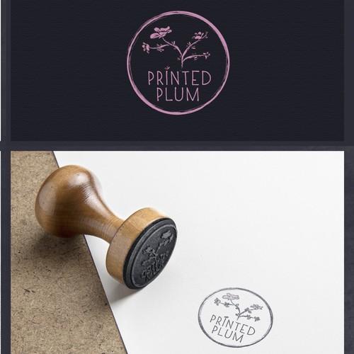 Printed Plum