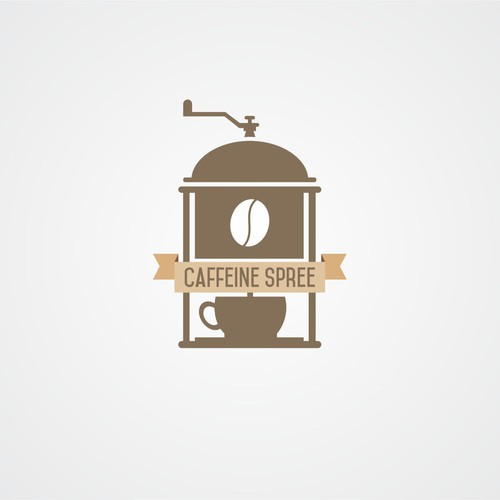 logo concept for coffee machine company