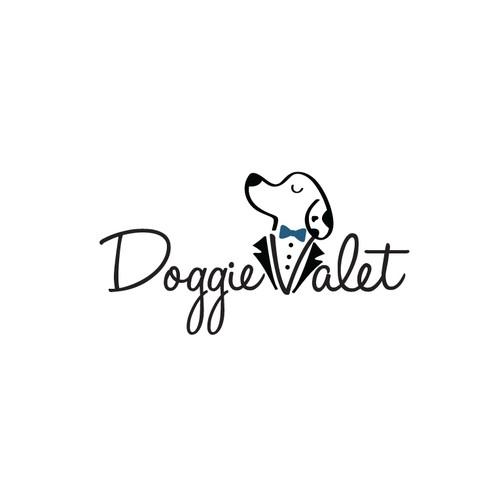 Logo for Doggie Valet