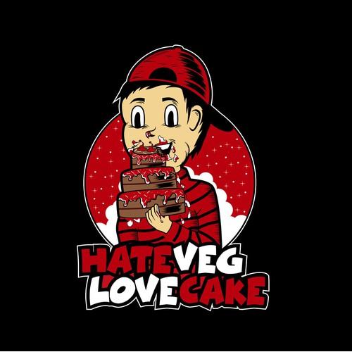 Hate Veg Love Cake