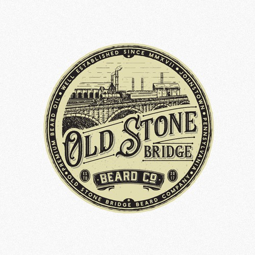 Old stone bridge beard company