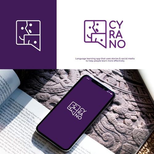 Logo for Language Learning App