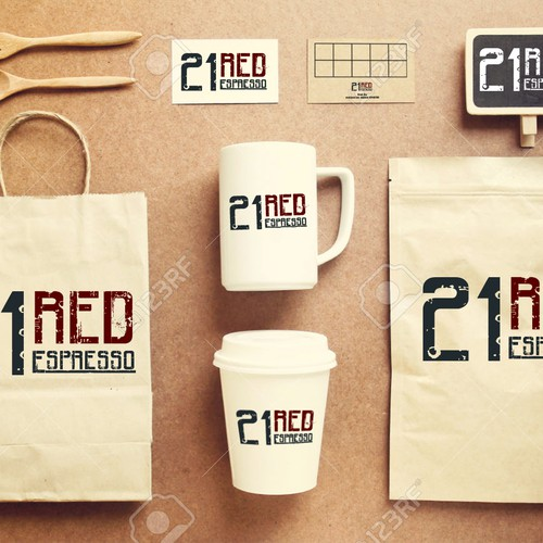 Logo for coffeshop