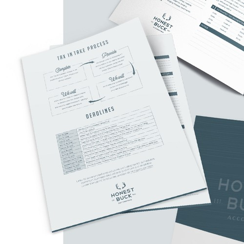 Tax organizer documents