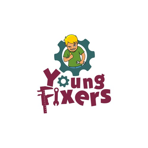 Young Fixers logo