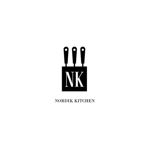 Logo concept for Nordic Kitchen