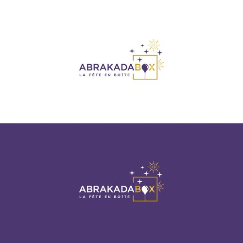 Modern and sophisticated logo for an event company