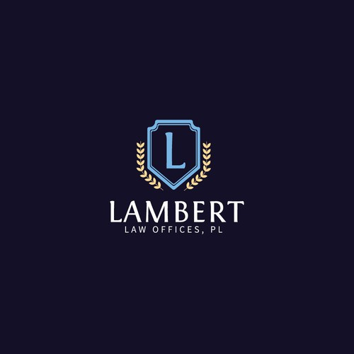 Logo concept for Lambert Law Offices