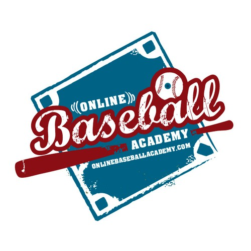 Create the next logo for Online Baseball Academy
