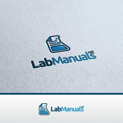 Create a winning logo design for LabManuals.net