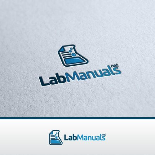 Create a winning logo design for LabManuals.net