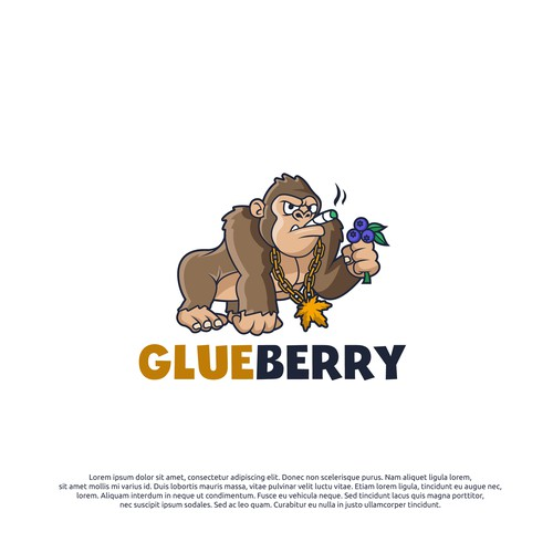 logo concept for glueberry