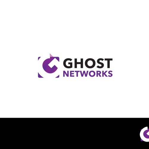 Create a logo for Ghost Networks.  A large scale wireless network developer.