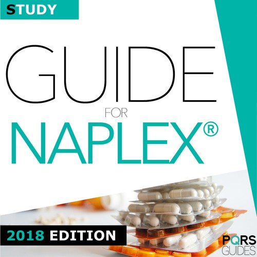 Study guide book cover for national pharmacist licensure examination