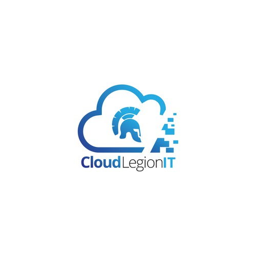 Create a roman legion inspired logo for Cloud Legion IT