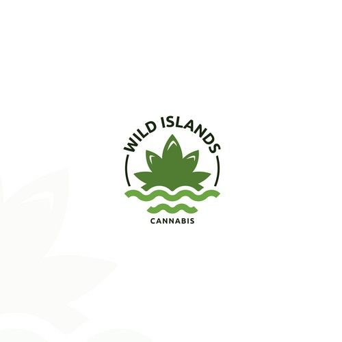Logo for CBD company