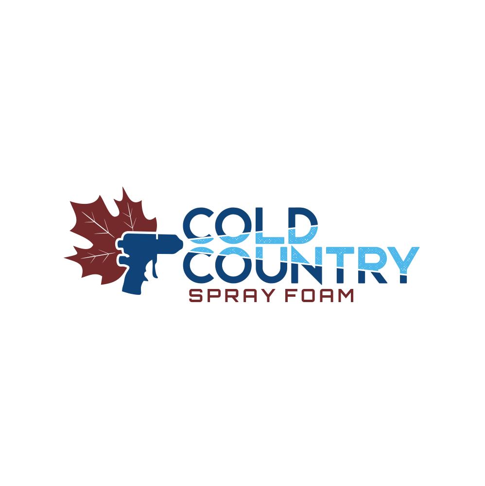 "Create a ""Canadian COLD WINTER"" logo for a very established spray foam insulation biz."