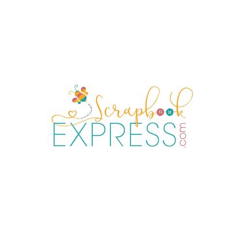 Craft and hobby e-commerce website logo