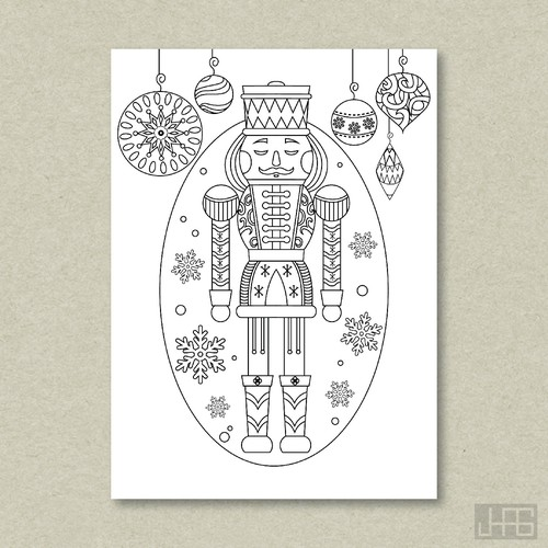 Nutcracker Themed Greeting Cards