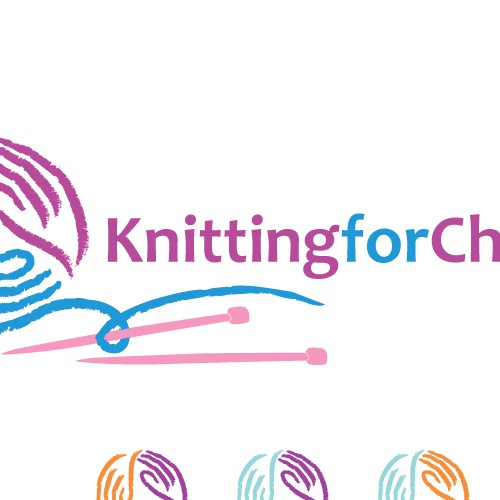 Logo Design for Popular Knitting Website