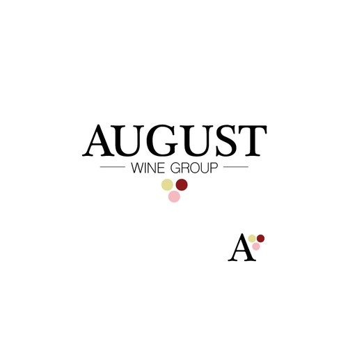 Logo concept for Wine Distributor August Wine Group