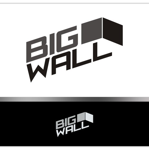 Create an original logo for Big Wall, a company mixing Art and Technology