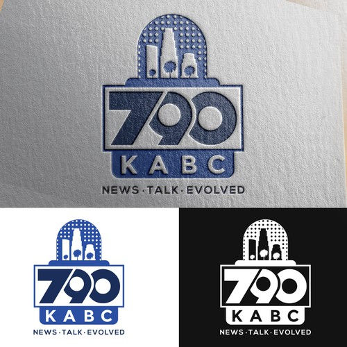 Logo for a radio station