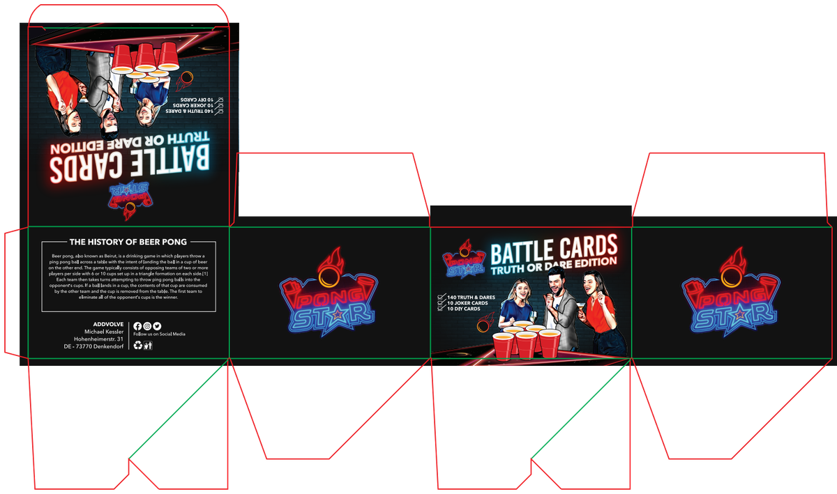 Design a card game and its (re-) packaging