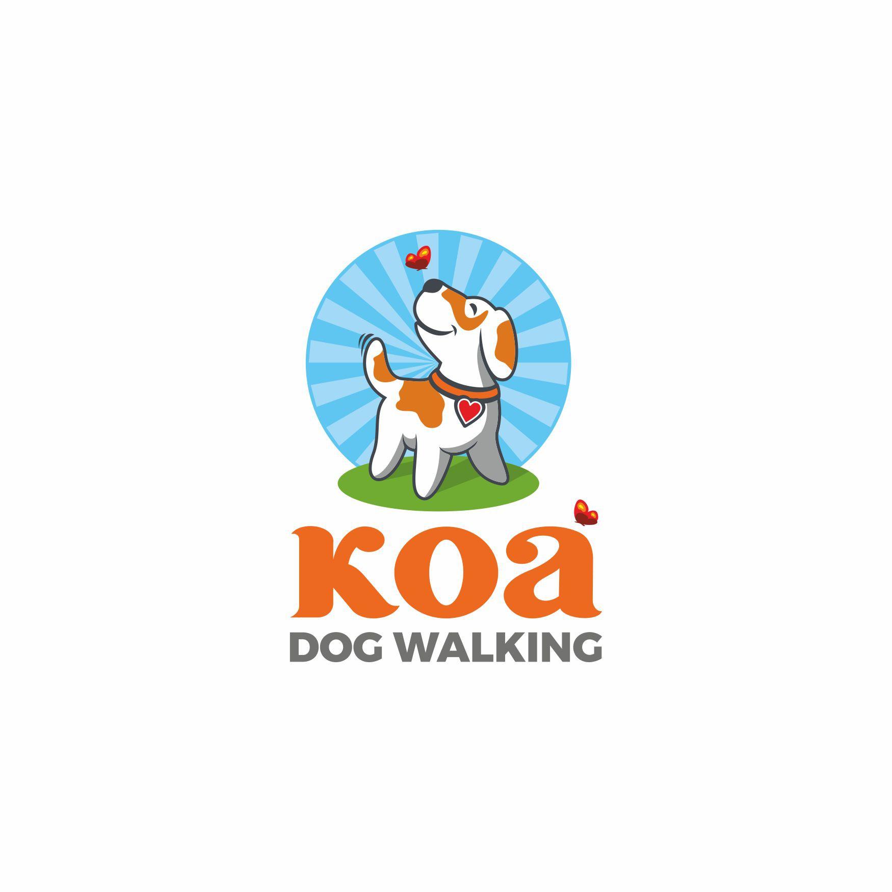 Dog Walking business needs friendly & sophisticated logo