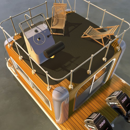 Small House Boat Concept