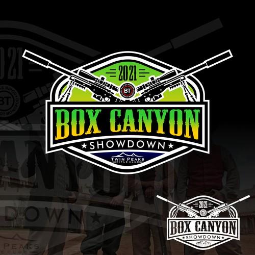 Logo For BOX CANYON SHOWDOWN