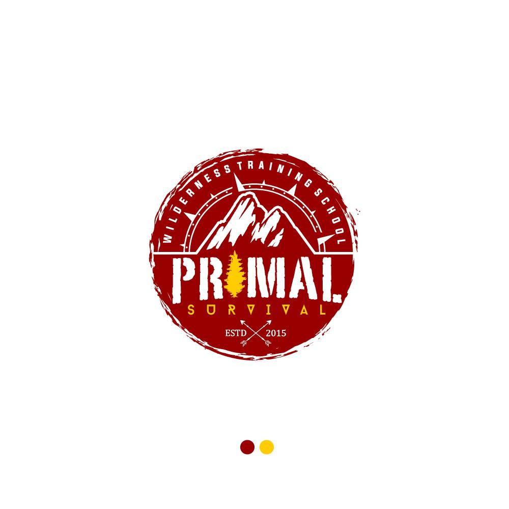 Wilderness Survival School Logo! Primal Survival!