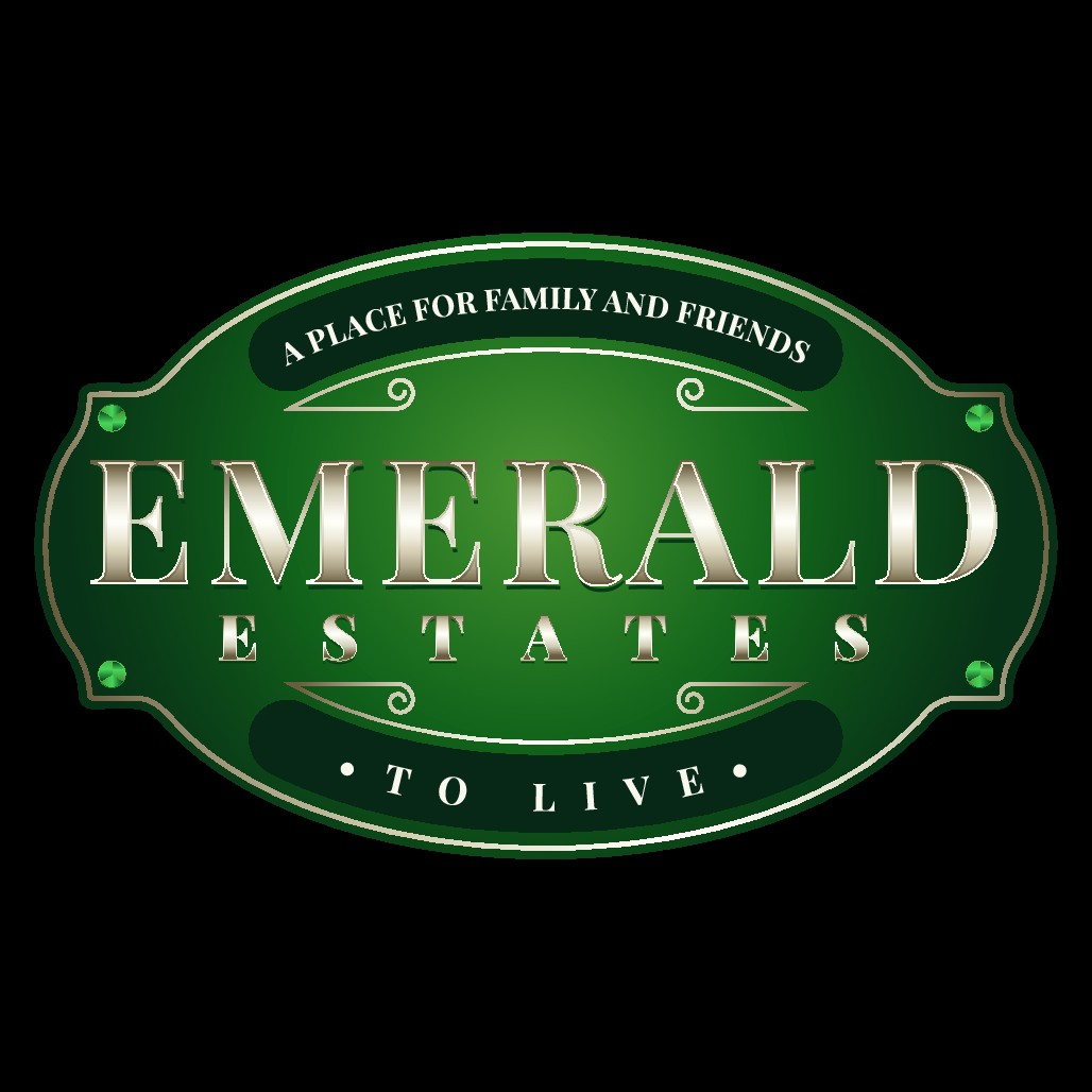sign for enterence of Emerald Estates MHP