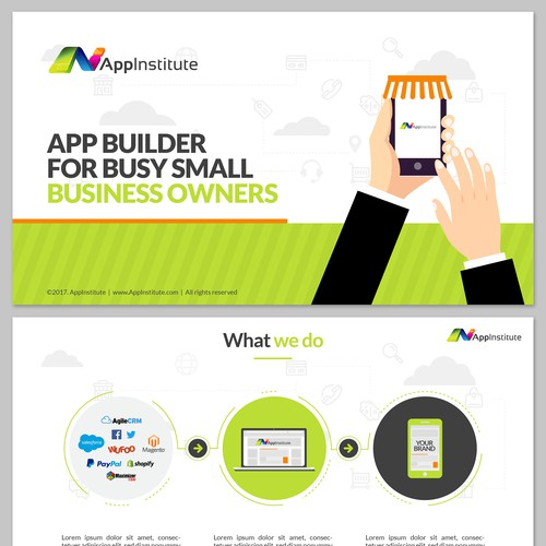 Presentation redesign for AppInstitute