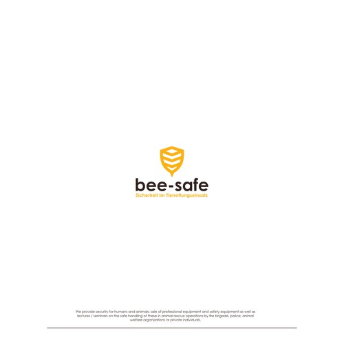 bee safe logo concept