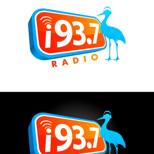 Logo For A Hot Radio Station In The Countryside.