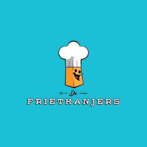 Finalist logo for a company who supply french fries and other food to parties.