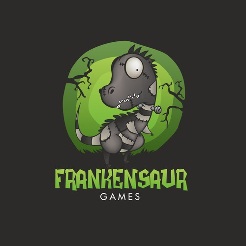 Logo Design for Frankensaur Games