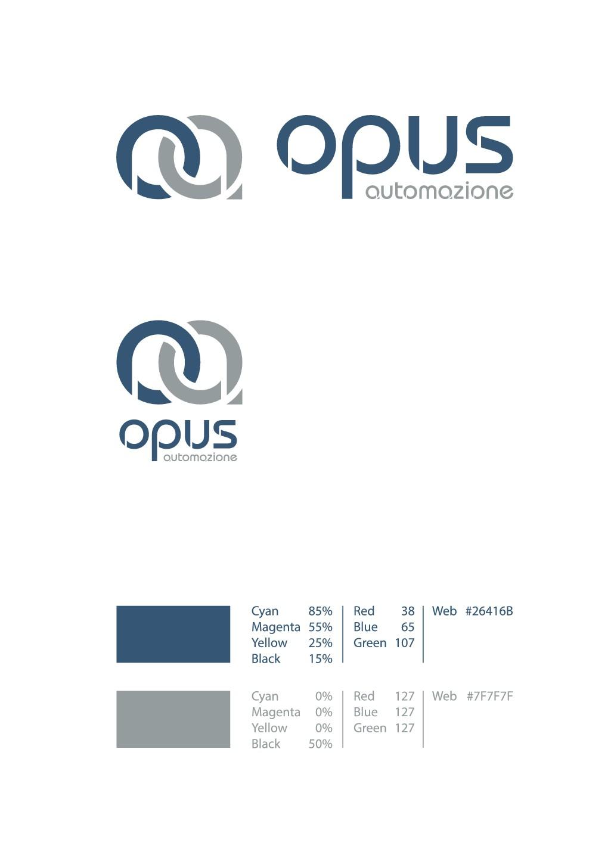 Create a smart logo for Opus Automazione!!!!