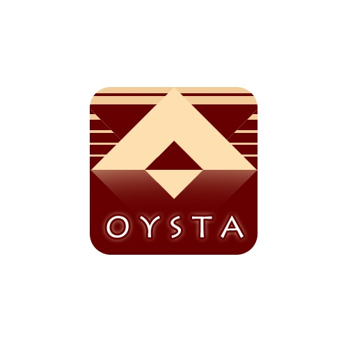 OYSTA logo & font design