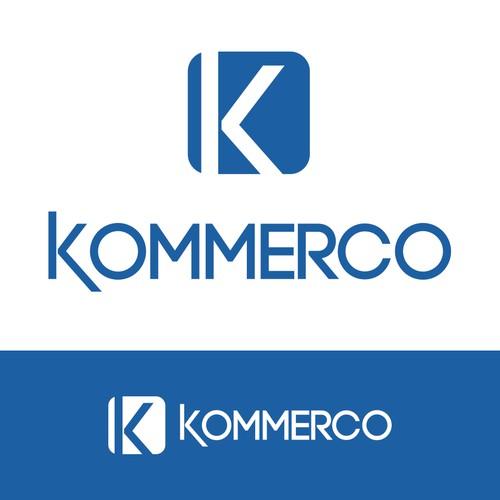 Kommerco logo design