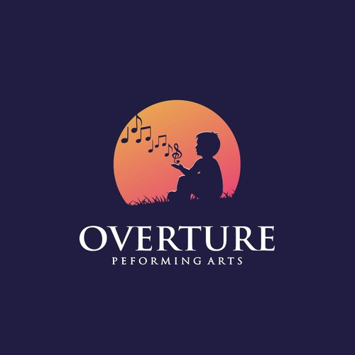 Design a logo for Overture Peforming Arts